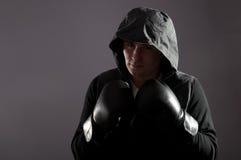 Street boxer Royalty Free Stock Image