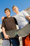Street boys Royalty Free Stock Images