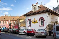 Street in Brasov Stock Images