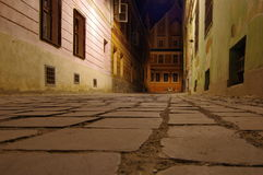 Street in Brasov Stock Photo