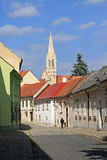 Street in Bratislava Royalty Free Stock Photos