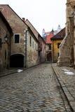 Street of Bratislava old town. Stock Photos