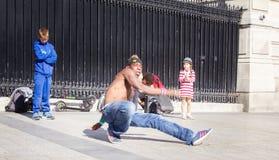 Street break dance show
