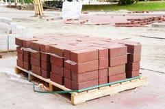 Street bricks Stock Images