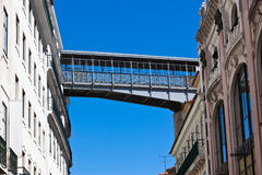 Street bridge Royalty Free Stock Photography