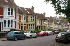 Street in Bristol Stock Image