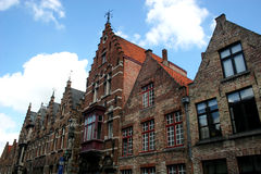 Street in Bruges Royalty Free Stock Photography