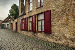 Street in Bruges, Belgium Royalty Free Stock Photo