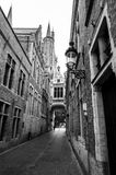 Street in Brugge Royalty Free Stock Images