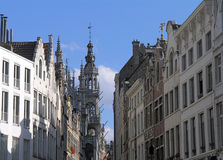 Street in Brussels, Belgium Stock Photography