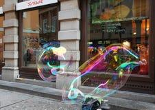 Street bubble art Royalty Free Stock Photo
