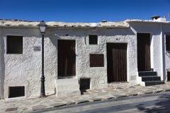 Street of Bubion, Las Alpujarras Stock Photography