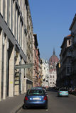 Street in Budapest Royalty Free Stock Photography