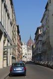 Street in Budapest Stock Photo