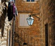 In the street of Budva. Montenegro Stock Photos