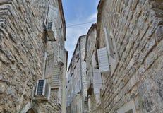 Street in Budva Stock Image