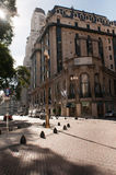 Street Buenos Aires highway. Royalty Free Stock Photography