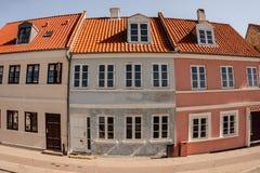 Street buildings Stock Image