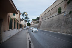 Street and buildings in Rome Stock Photo