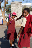 Street in Bulawayo Zimbabwe Royalty Free Stock Photo