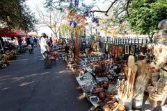 Street in Bulawayo Zimbabwe. ZIMBABWE, BULAWAYO, OCTOBER 27: Market place on street in the second largest city in Zimbabwe, October 27, 2014, Zimbabwe Royalty Free Stock Photo