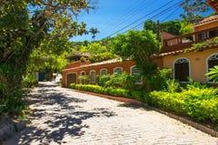 Street in Buzios, Rio de Janeiro Royalty Free Stock Photos