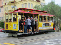 Street Cable Car, San Francisco California Stock Images