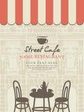 Street cafe Royalty Free Stock Image