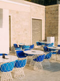 Street Cafe. Cafe in Montenegro Stock Photography