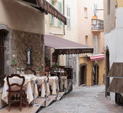 Street cafe in Cannes Stock Image