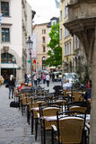 Street cafe - Germany Royalty Free Stock Images