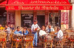 Street cafe in Nice Royalty Free Stock Photo