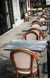 Street cafe Stock Images