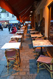 Street cafe in Paris Royalty Free Stock Photo