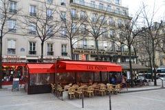 Street cafe in Paris Royalty Free Stock Photos