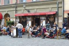 Street cafe. Stock Image