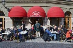 Street cafe. Royalty Free Stock Photo