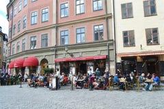 Street cafe. Stock Photos