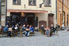 Street cafe. Royalty Free Stock Image
