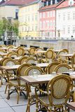Street cafe Royalty Free Stock Image
