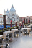 Street cafe in Venice Stock Images