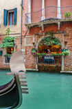 Street cafe in Venice Royalty Free Stock Images