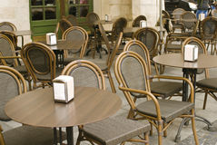 Street cafe Royalty Free Stock Photos