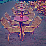 Street Cafe stock photography