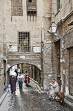 Street in cairo old town egypt Royalty Free Stock Images