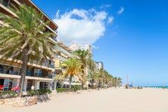 Street of Calafell, Tarragona region, Spain Royalty Free Stock Image