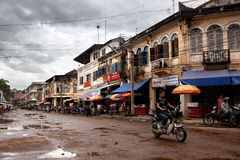 Street in Cambodia Stock Photography