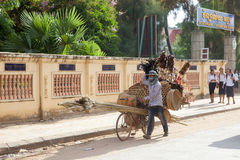 Street cambodian vendor Royalty Free Stock Photo
