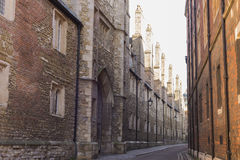 Street in Cambridge, UK Royalty Free Stock Photography