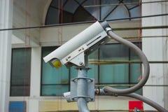 Street camera surveillance Royalty Free Stock Photo